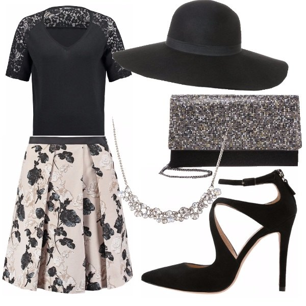 Outfit Lace and flowers
