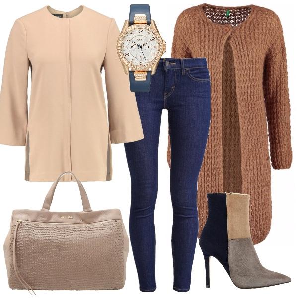 Outfit Glamour e sofisticata