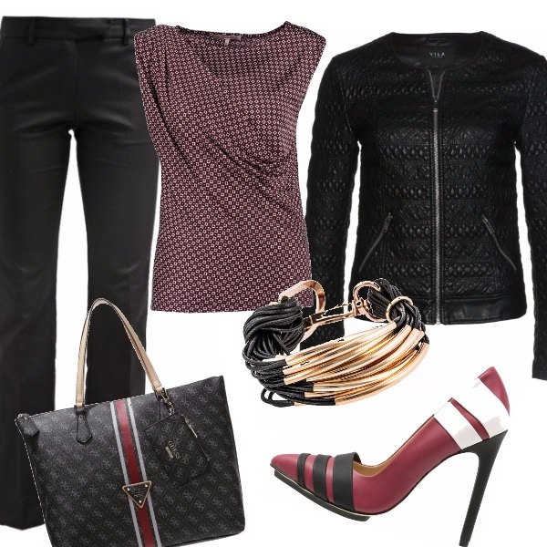 Outfit Sporty glam
