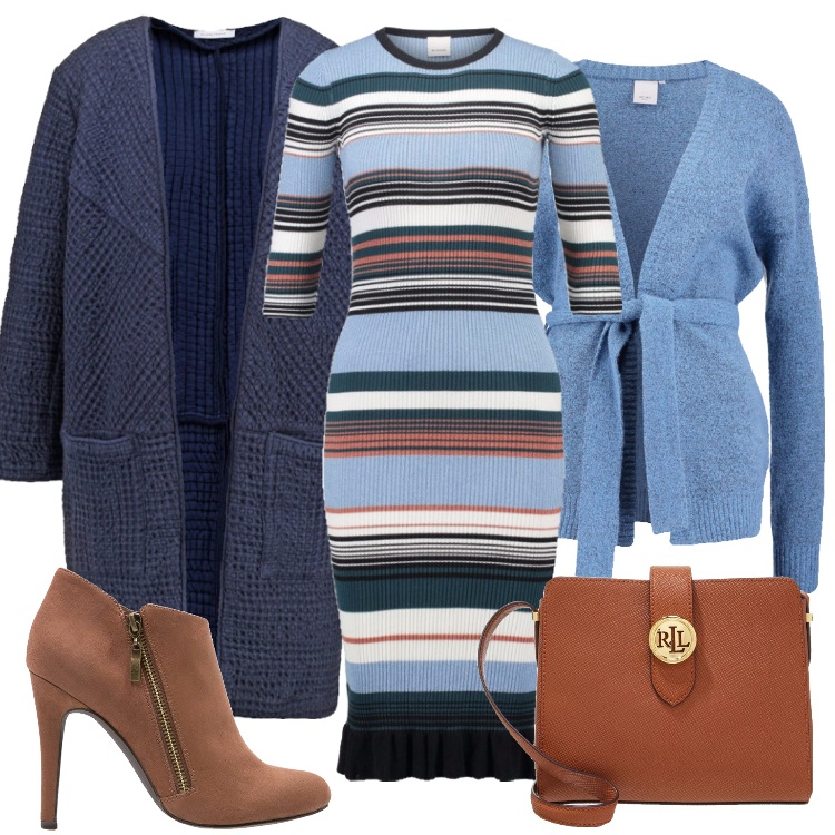 Outfit L'abito rigato