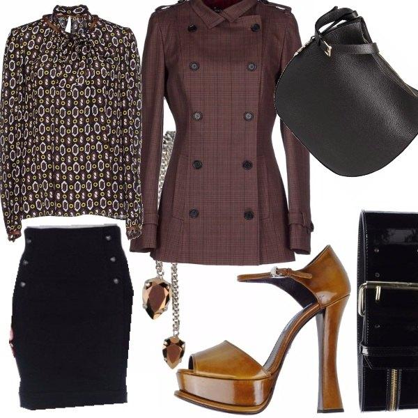Outfit Estrosa classicità