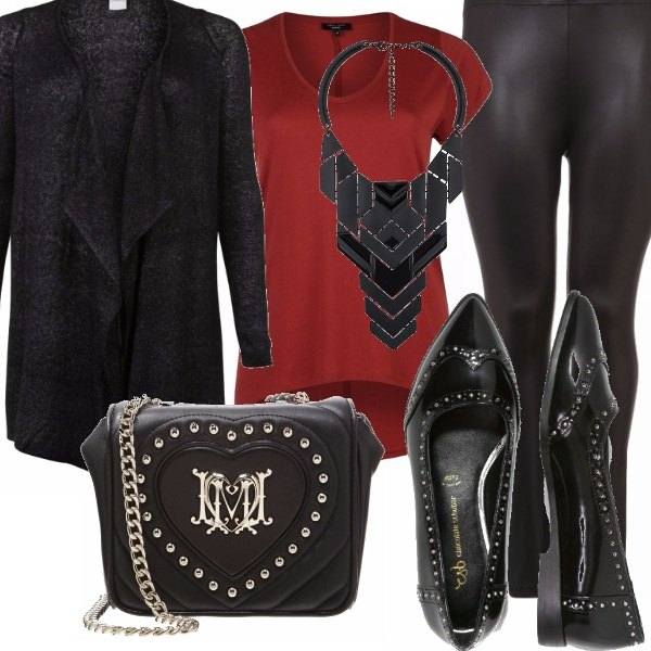 Outfit Teen morbida e rock!