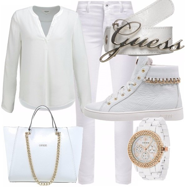 Outfit Total white total love