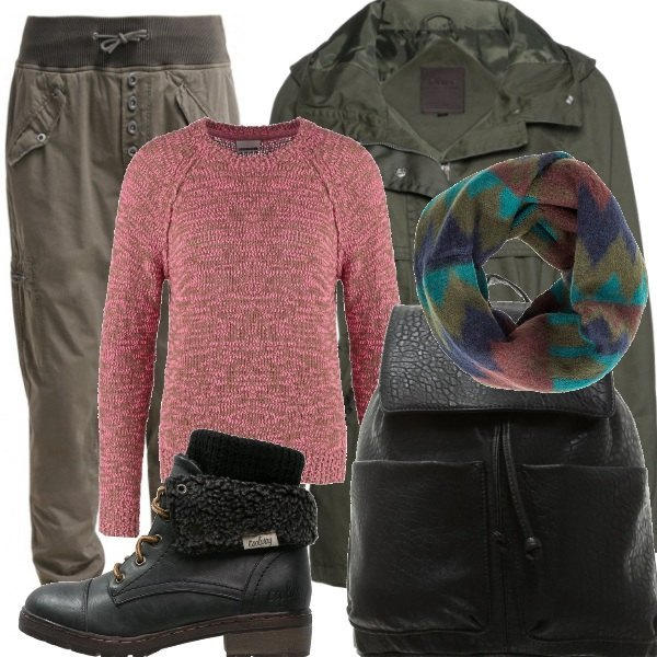 Outfit City jungle