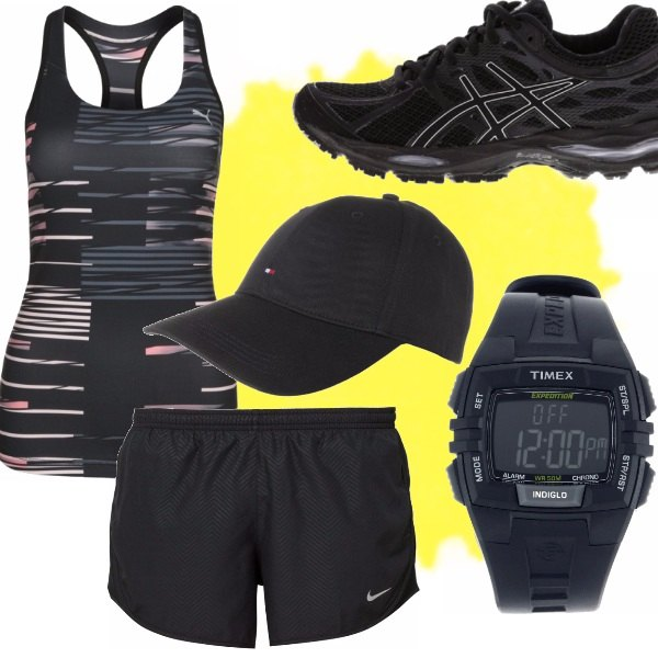 Outfit Black sport