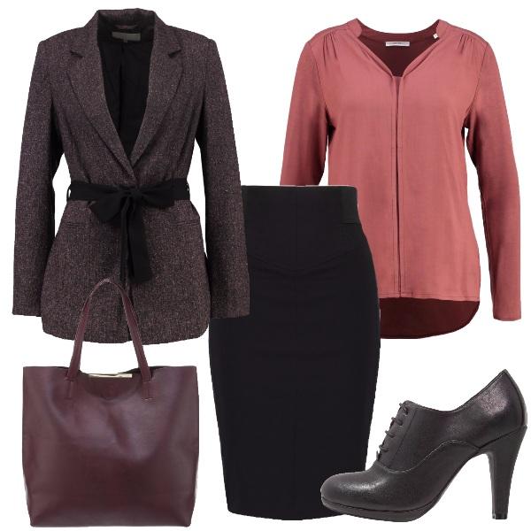 Outfit La giacca con il fiocco