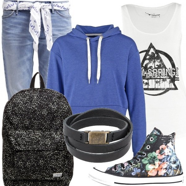 Outfit Inizio scuola con stile