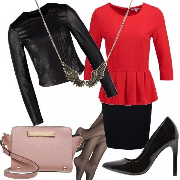 Outfit Rock elegante