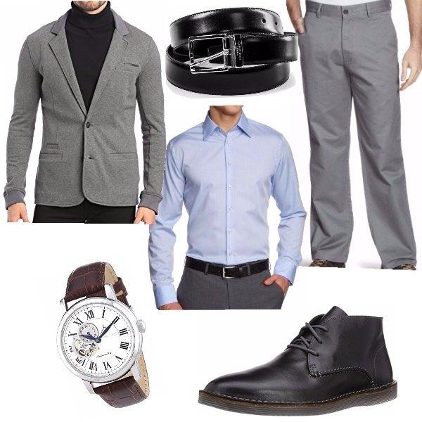 outfit uomo ufficio