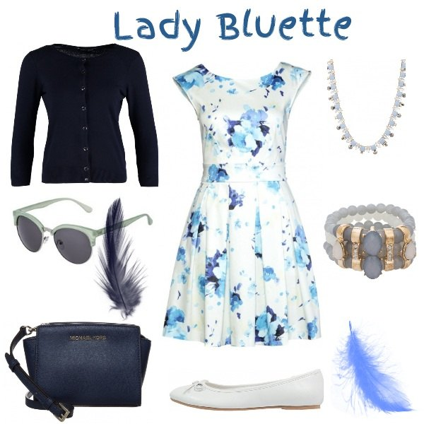 Outfit Lady Bluette