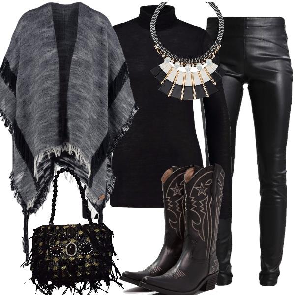 Outfit Dark texana