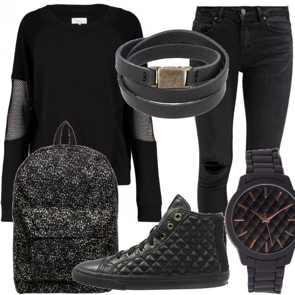 Outfit Casual dark