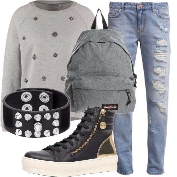Outfit Look scuola
