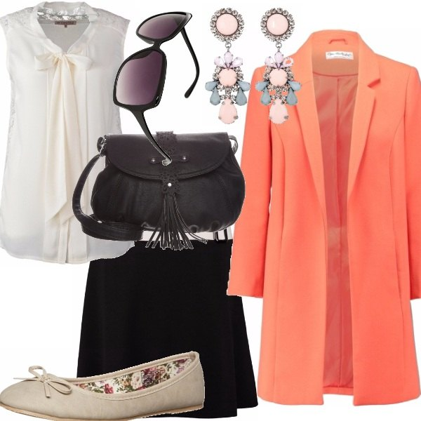 Outfit A touch of tangerine