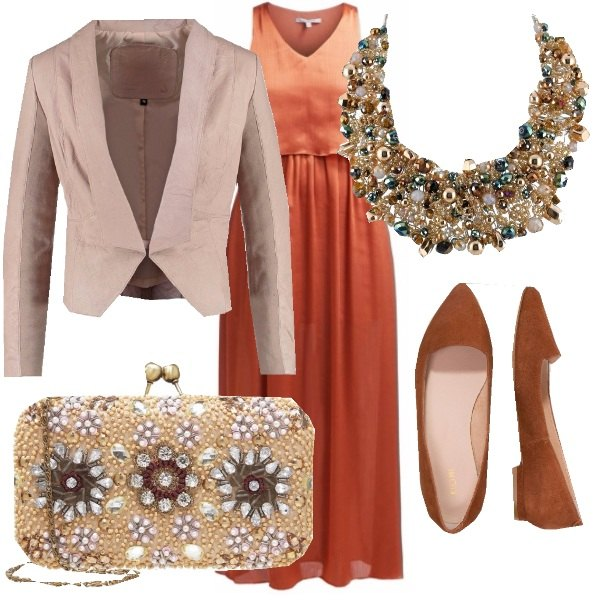 Outfit Tangerine cocktail!