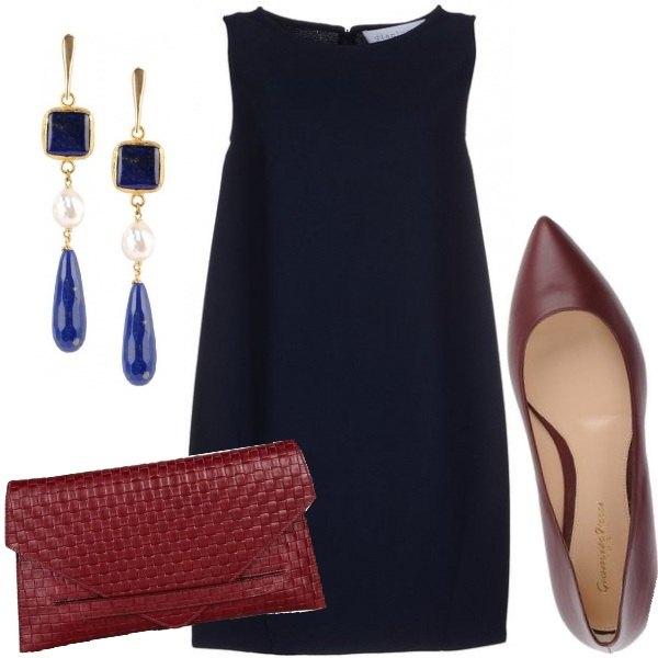 Outfit L'eleganza del blu