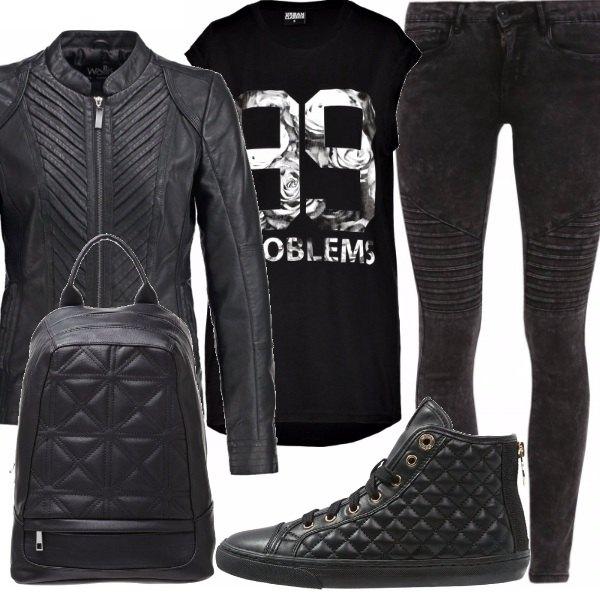 Outfit Dark biker