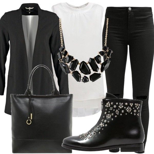 Outfit Semplice ed elegante