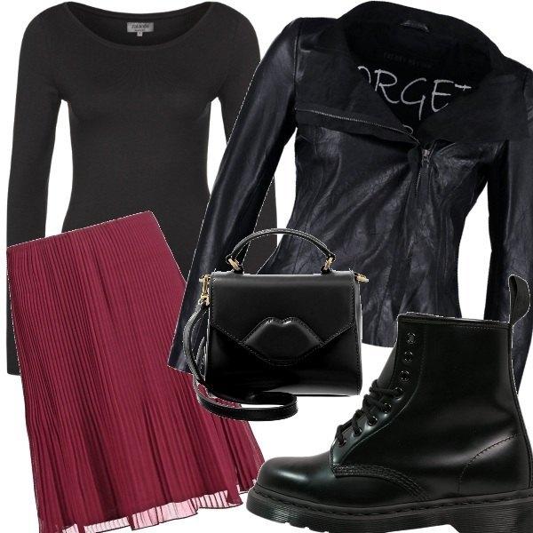 Outfit Bon punk
