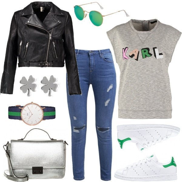 Outfit Green touch