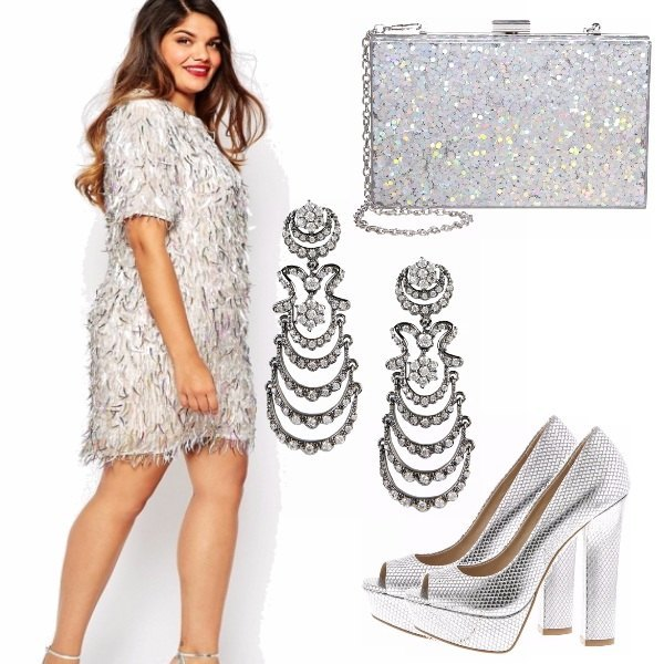 Outfit Silver e morbidezza ;)
