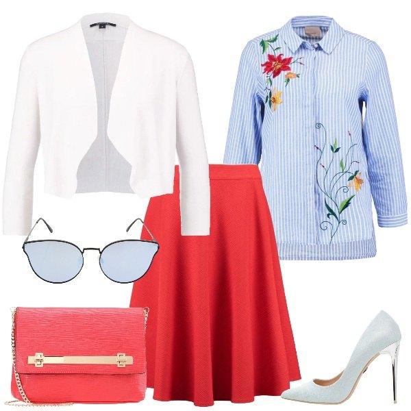 Outfit Originale e romantica