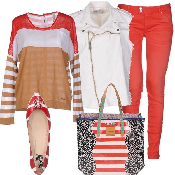 Outfit Mille righe