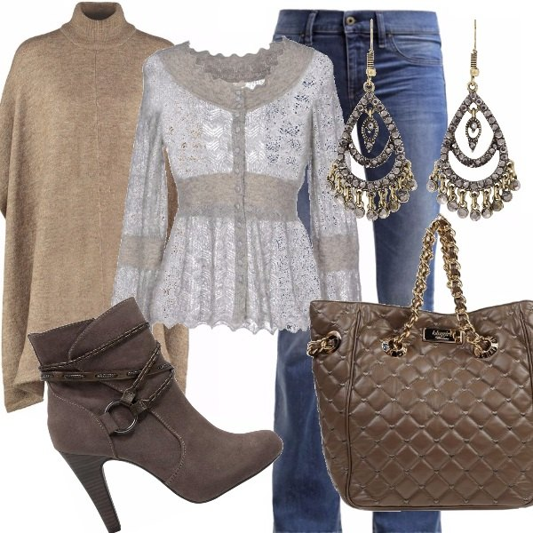 Outfit Bohemien in autumn