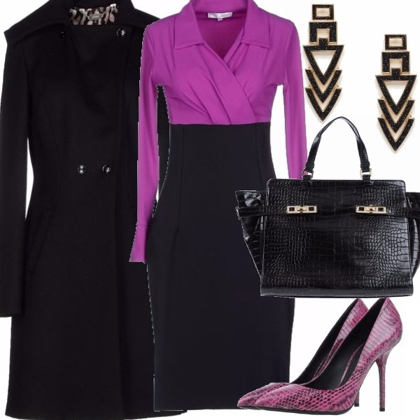 Outfit Sinuosa con classe