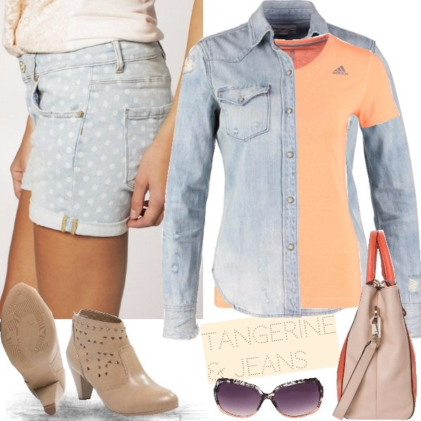 Outfit TANGERINE & JEANS