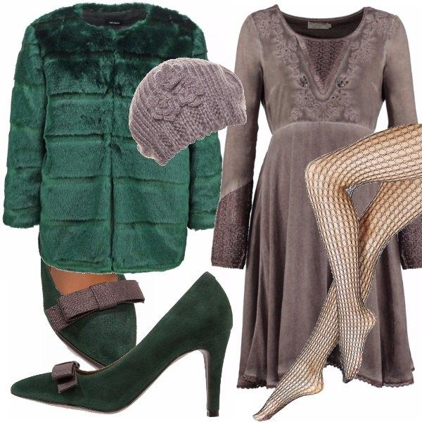 Outfit La moda passa col verde!