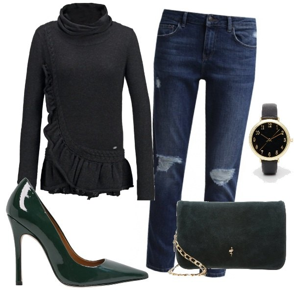 Outfit Green addicted