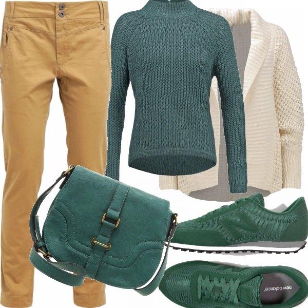 Outfit Mi piace questo verde