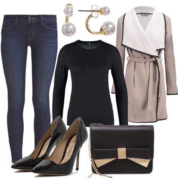 Outfit Semplicità chic