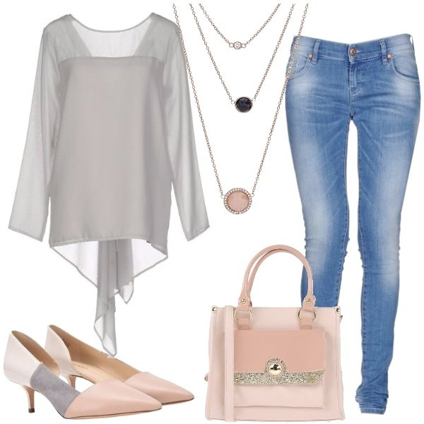 Outfit Tacco medio