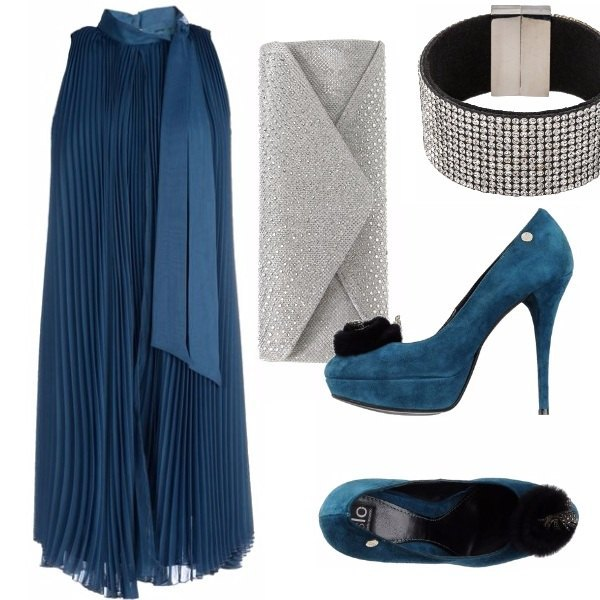 Outfit Ultimo dell'anno in chiffon.