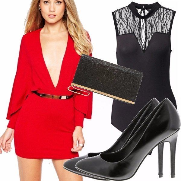 Outfit Una femminilita' audace