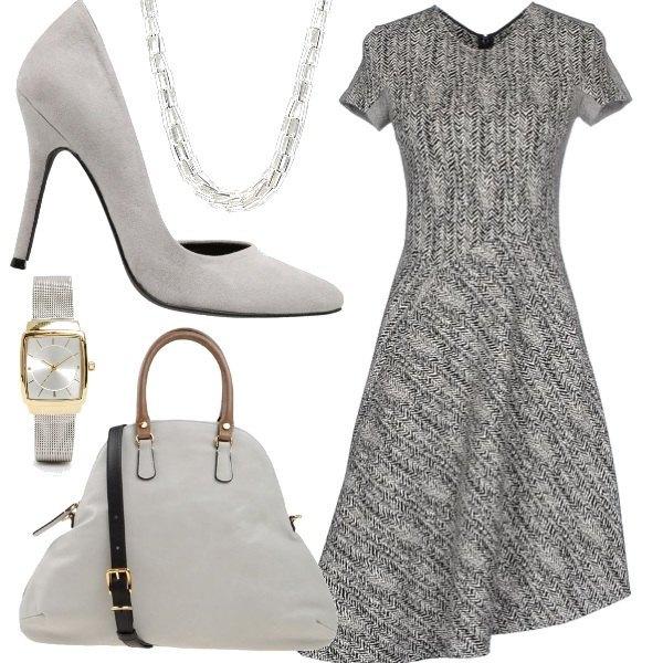 Outfit Grigio sofisticato