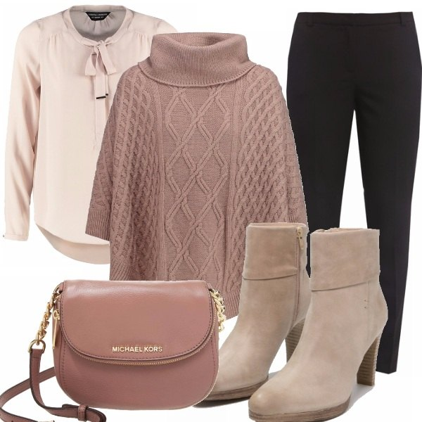 Outfit Chic in tricot