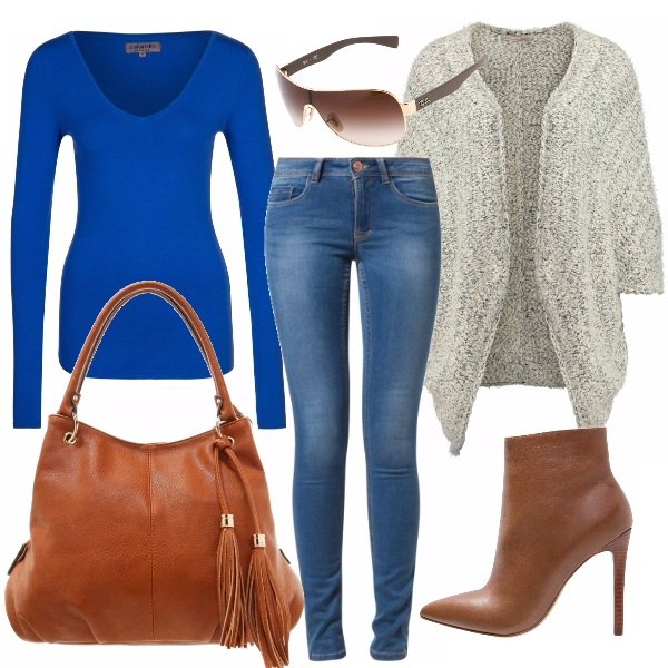Outfit Denim blue