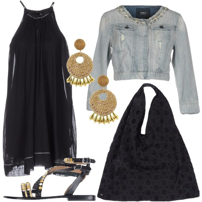 Outfit Etnico glamour