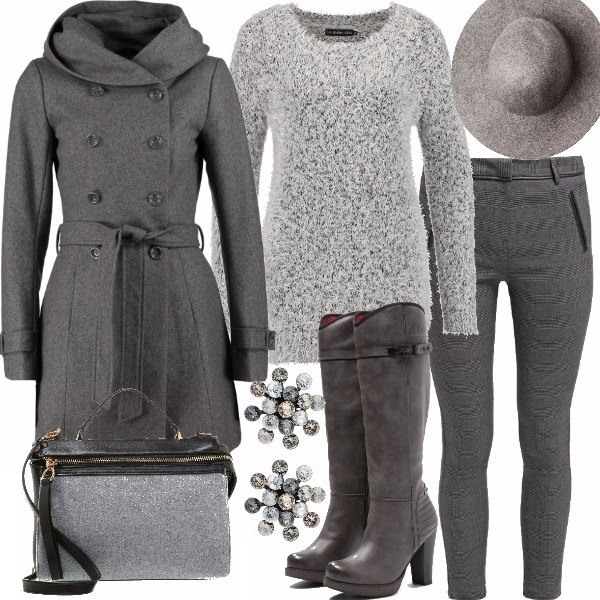 Outfit Grigio invernale