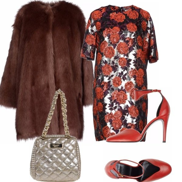Outfit Rosso indefinito