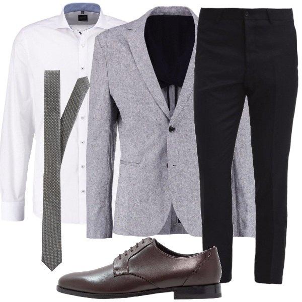 Outfit Matrimonio Uomo Spezzato : Un completo spezzato outfit uomo business elegante per