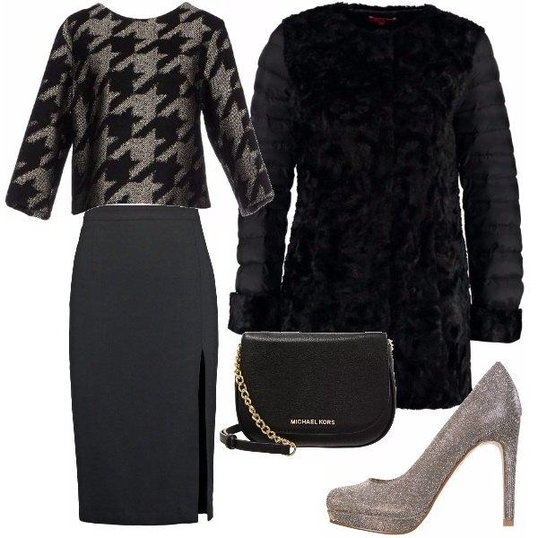 Outfit L'eleganza della longuette