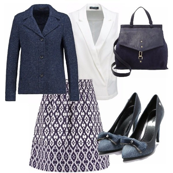 Outfit Zoom sulla gonna!