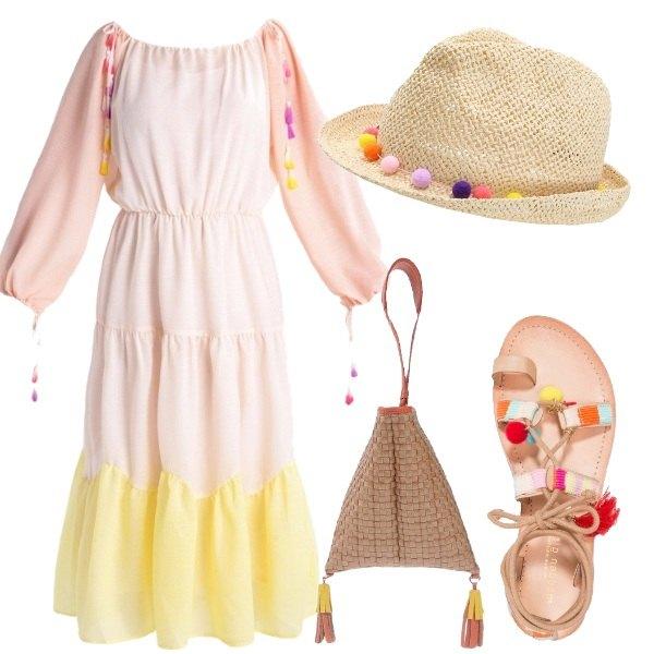 Outfit Hippie per gioco