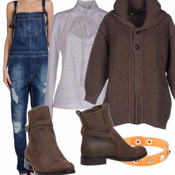 Outfit La salopette che comodità