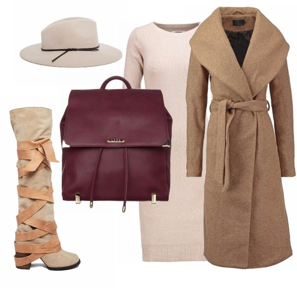 Outfit Cappotto cammello!
