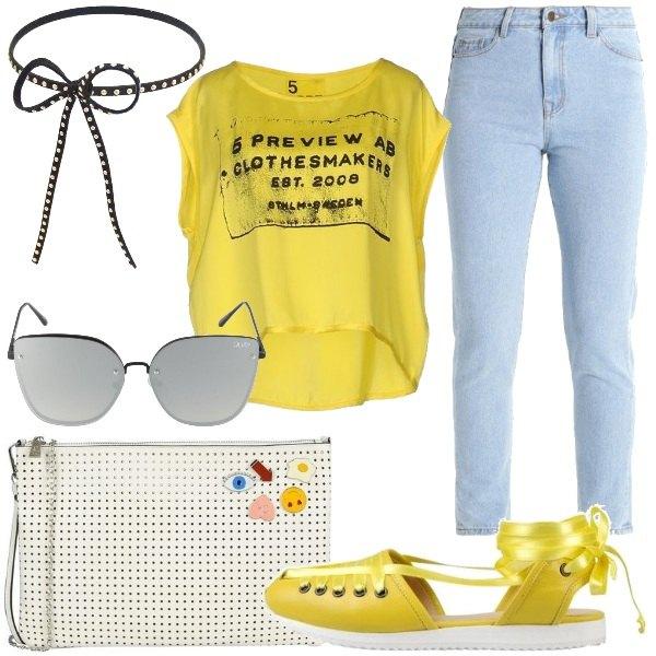 Outfit Giallo solare